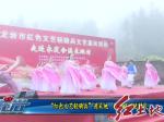 """红色文艺轻骑兵""""进采地  新春祝福送村民"""