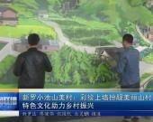 新罗山美村: 彩绘上墙扮靓美丽乡村 特色文化助力乡村振兴