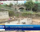 漳平:九龙江北岸木栈道工程建设持续推进