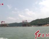 永定:龙湖景观大桥最深主墩灌注桩成功入水 工程取得了突破性进展