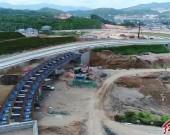 永定高速建設者:勞動獻禮國慶揮灑汗水感受70載變遷