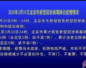 2020年3月31日龙岩市新型冠状病毒肺炎疫情情况
