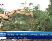 新罗曹溪片区:持续发力 对浮东路项目土地开展集中清表行动
