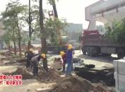 永定:体育大道项目建设加快推进