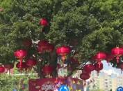 漳平:扮靓街景迎新年