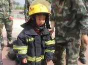 龙岩开发区消防大队到辖区幼儿园开展消防安全教育活动