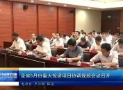 全省5月份重大投资项目协调视频会议召开