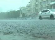 上杭:遭受短时强降雨 严防高空坠物伤人