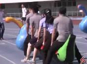 市直机关干部职工全民健身趣味运动会举行