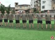 永定:新兵入伍前集训 提前体验军营生活
