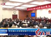 市五届人大常委会第十二次会议举行第二次全体会议