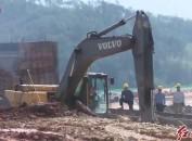省、市重点项目—龙岩公路港物流园工程建设进展顺利
