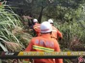 新羅小池:國道山體滑坡 消防緊急救援