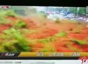 武平:山體滑坡 一人遇難