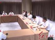许维泽会见南威软件集团董事长吴志雄一行