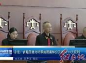 永定:首起恶势力犯罪集团案件公开宣判 15人获刑
