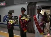 中国人民解放军驻岩32514部队两位战士参加国庆阅兵载誉归来