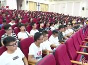 全國模范教師林豫梅為龍巖學院學生黨員上黨課