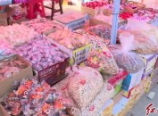 漳平:热闹年货街 市民备货忙