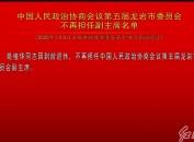 中国人民政治协商会议第五届龙岩市委员会不再担任副主席名单