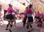 (网络中国年.春节)畲乡竹竿舞