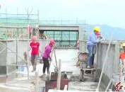 龙岩北大附属实验学校(东肖校区)工程有序推进