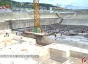 龙岩中心城区莲花湖安置小区项目一期一标段完成桩基施工