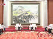 市領導會見上海市徐匯區代表團