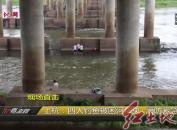 上杭:四人钓鱼被困河中央 消防紧急救援