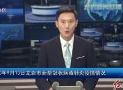 2020年9月13日龙岩市新型冠状病毒肺炎疫情情况
