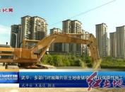 武平:多部门对城厢片区土地收储项目进行保障性施工