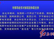 市领导赴京对接项目争取支持