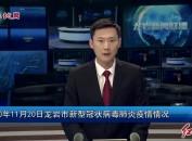 2020年11月20日龙岩市新型冠状病毒肺炎疫情情况