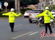 """市委組織部開展""""文明交通志愿服務月""""活動"""