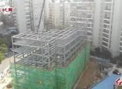 龍巖老城區又一座停車樓建設中