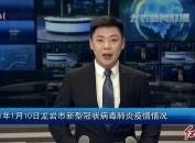 2021年1月10日龙岩市新型冠状病毒肺炎疫情情况