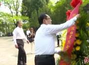 不忘先烈英雄志 清明时节寄哀思 市领导赴广西桂林祭奠闽西籍湘江战役烈士