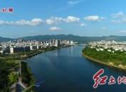 市委书记、市第一总河长李建成巡察汀江时强调 守护好一江清水 建设好美丽乡村