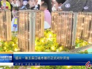 德兴·璞玉滨江城市展厅正式对外开放
