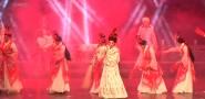 闽西传统汉剧演出 为环卫工人送祝福