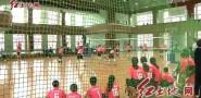 中小学生排球比赛 尽显青春活力