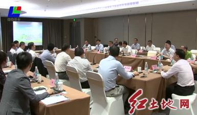 市领导与全国侨联常委陈家泉 曾焕沙座谈
