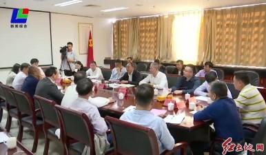 西藏边坝县党政代表团来我市考察