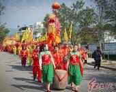 农历二月初五,福建长汀新桥举办农具文化节