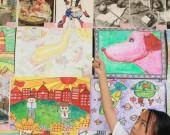 连城县朋口镇举办庆祝建党百年书画作品展