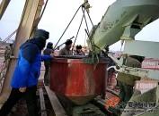 【新时代是奋斗者的时代】中卫南站黄河大桥工程建设者:新春每天三班倒
