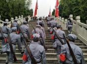 """龙岩市开展纪念""""五一口号""""70周年红色教育活动"""