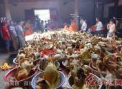 """福建长汀濯田上塘村——快乐的六月初六""""百鸭宴"""""""