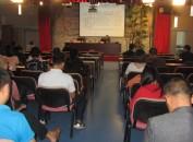 龙岩市文广新局在广电中心举办闽西红色文化客家文化的传承与保护讲座