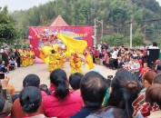 武平县东留镇桂坑村举办2019年乡村春晚
